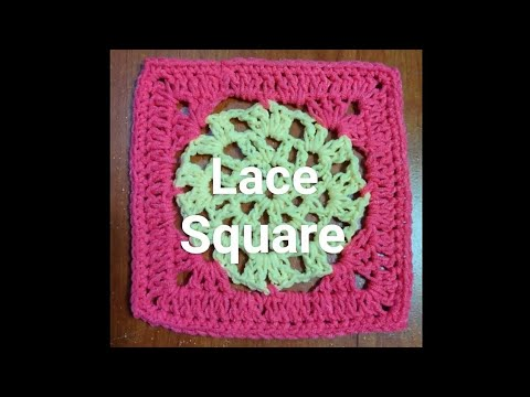 #219 - Lace Square - 2018 Granny Square CAL