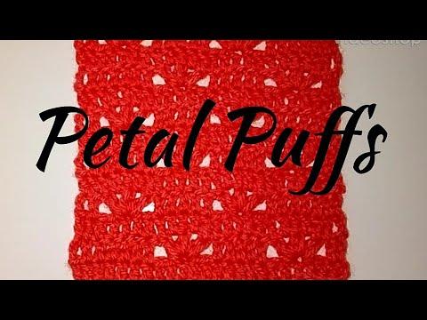 #266 - Petal Puffs - 2018 Granny Square CAL