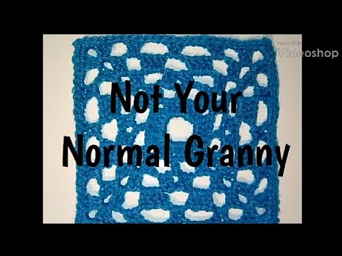 #287 - Not Your Normal Granny - 2018 Granny Square CAL