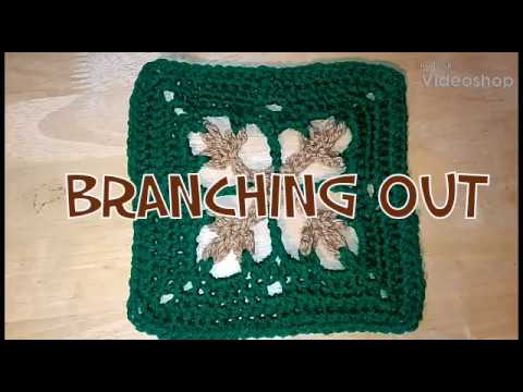 #297 - Branching Out - 2018 Granny Square CAL