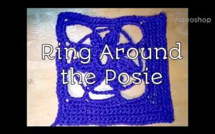 #300 - Ring  Around the Posie - 2018 Granny Square CAL