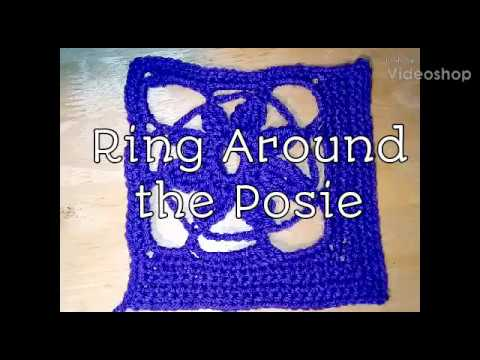#300 - Ring  Around the Posie - 2018 Granny Square CAL