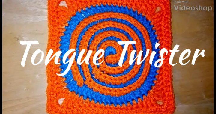 #311 - Tongue Twister - 2018 Granny  Square CAL