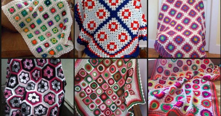 Beautiful And Outstanding Crochet Blanket /Comfort Design And Pattern