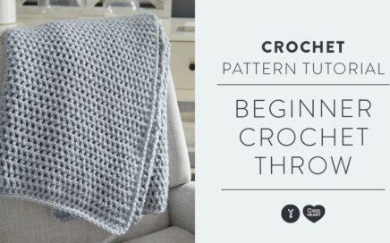 Beginner Crochet Throw Tutorial! With Marly Bird