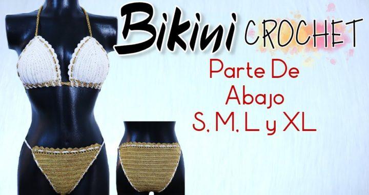 Bikini Crochet Todas Las Tallas Fácil Y Rápido | ENGLISH SUBTITLES 😎
