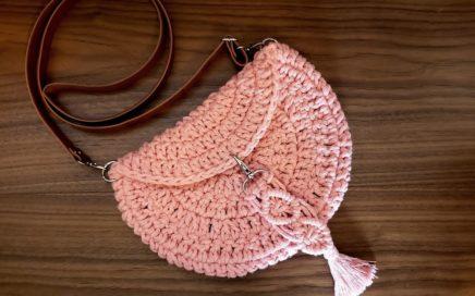 Bolsa de Crochê - Como Fazer Uma Bolsa de Crochê - Tutorial de Crochê - Crochet Bag - DIY - Crochet