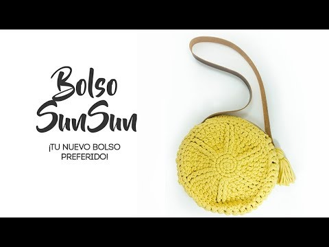 Bolso a crochet veraniego -  ¡Bolso SunSun!