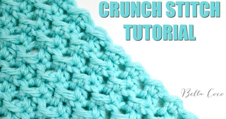 CROCHET: CRUNCH STITCH  | Bella Coco Crochet