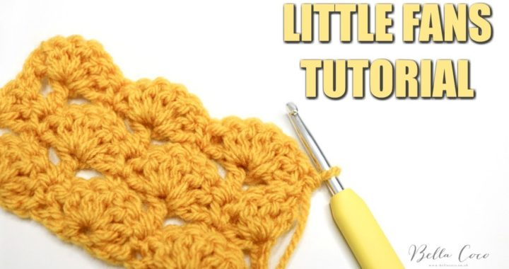 CROCHET: LITTLE FANS TUTORIAL | Bella Coco Crochet SPON