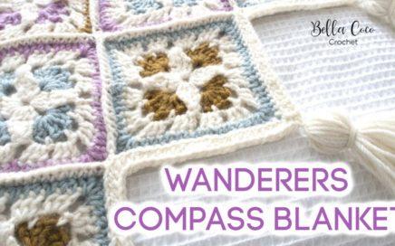 CROCHET: WANDERERS COMPASS BLANKET | Bella Coco Crochet