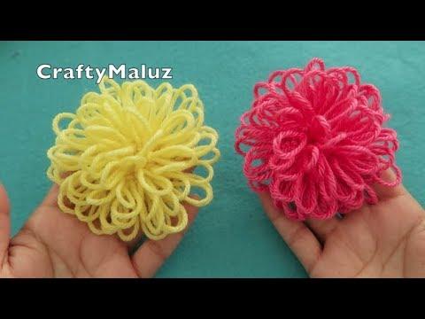 #CROCHET#TUTORIAL#FLOR TEJIDA | HAZ LA FLOR TEJIDA MÁS FÁCIL | flor a crochet muy fácil