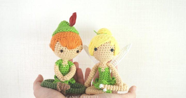 Campanilla amigurumi tutorial, Tinker Bell.♥️
