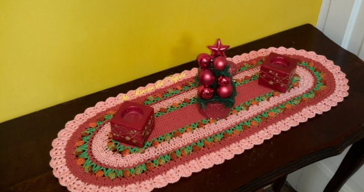 Carpeta a crochet (ganchillo) tutorial paso a paso - Crochet doily step by step tutorial