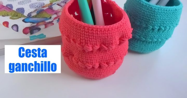 Cesta facil ganchillo | crochet facil