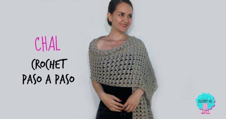 Chal rectangular a crochet -principiantes