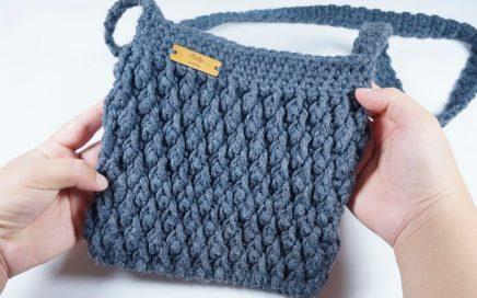 🌈Como Tejer Bolso Cartera PARA EL DIARIO #4 Crochet Ganchillo😍 (Punto Gota)