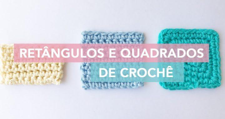Como fazer quadrado e retângulo de crochê   Amigurumi Avançado #3