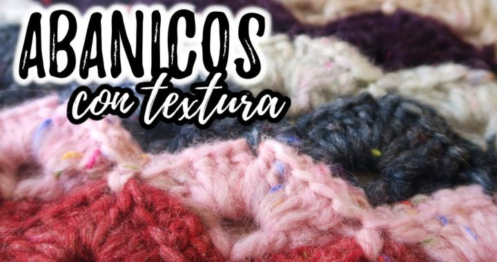 Cómo tejer PUNTO ABANICOS con relieve a crochet + REVIEW CYRCUS DHG (english subs) | Ahuyama Crochet