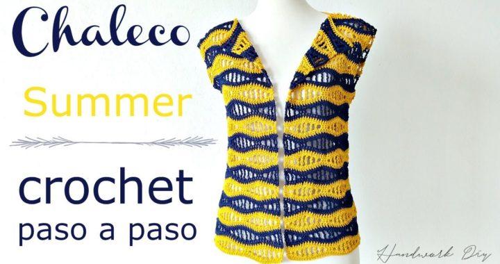 Cómo tejer chaleco summer crochet