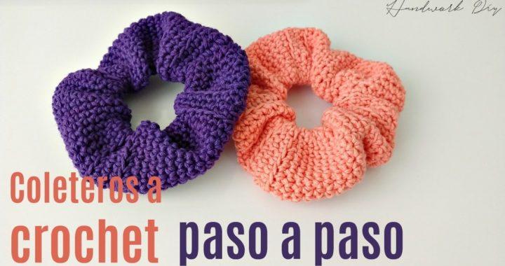 Cómo tejer coletero a crochet en minutos