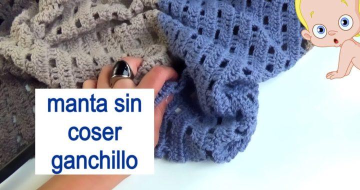 Como tejer manta fácil a ganchillo