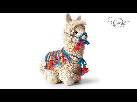 Crochet Llama Stitch Along: Head & Neck