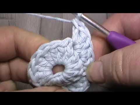 Crochet Pattern for a Heart Motif by The Cool Crochet Society