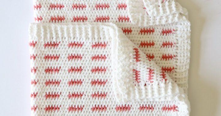 Crochet Ribbed Blanket Border