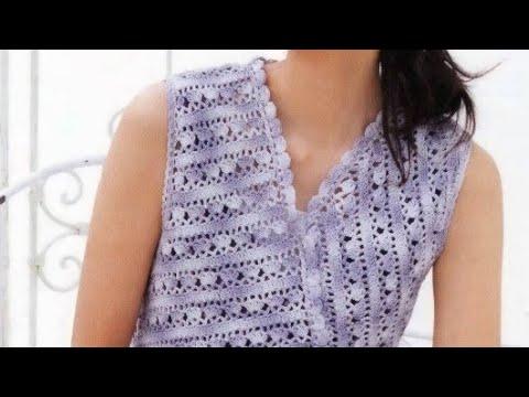 Crochet Top Pattern - Узор крючком для топа