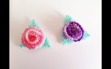 Flor a crochet o ganchillo / fácil y rápido / paso a paso