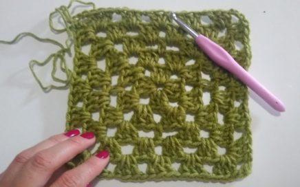 Granny Tejido en Crochet para principiantes- Tutorial paso a paso💕