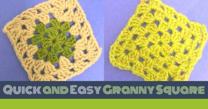 Granny square for beginners in Tamil with English subtitile