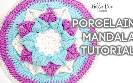HOW TO CROCHET A MANDALA | Bella Coco Crochet ad