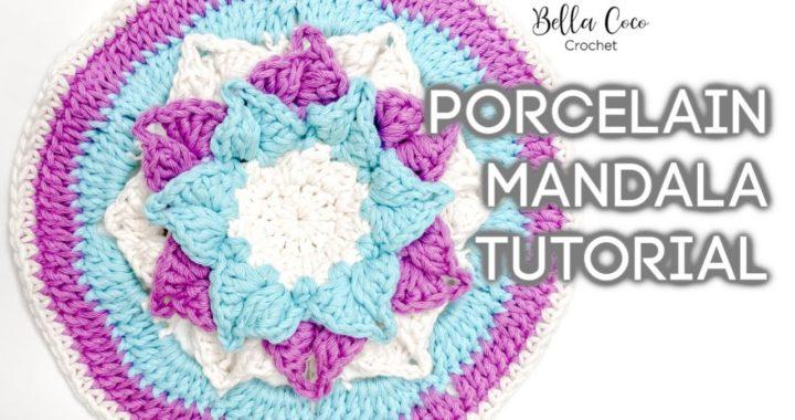 HOW TO CROCHET A MANDALA | Bella Coco Crochet ad