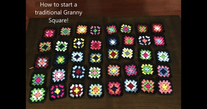 How to start a traditional Granny Square