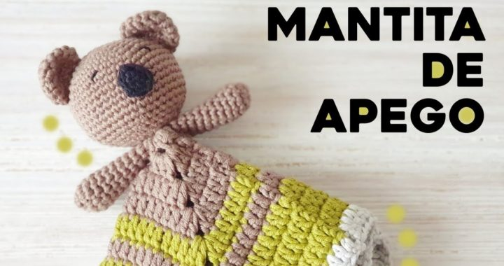 MANTA DE APEGO KOALA a crochet - Rellena de LAVANDA !!! | Ahuyama Crochet | Tutorial paso a paso