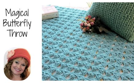 Magical Butterfly Free Crochet Pattern