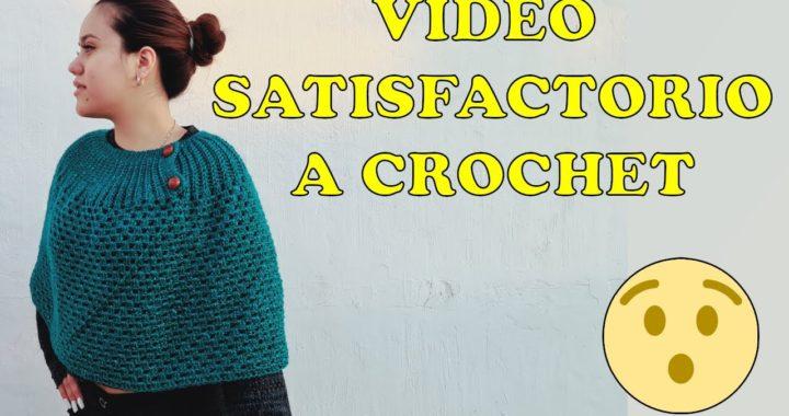 Mañanita a crochet proximo tutorial | capa tejida