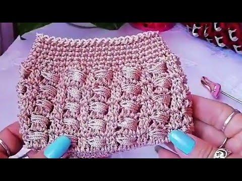 Monedero a Crochet rápido y fácil para negocio.