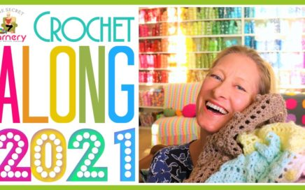 NEW CAL Crochet Along 2021 at the Secret Yarnery