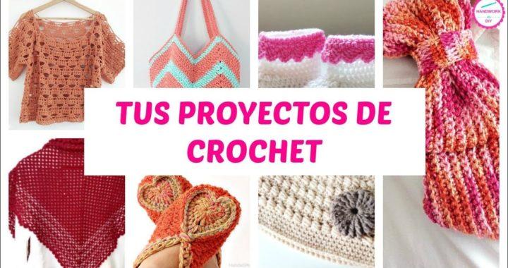 PROYECTOS DE CROCHET DE NUESTRA COMUNIDAD