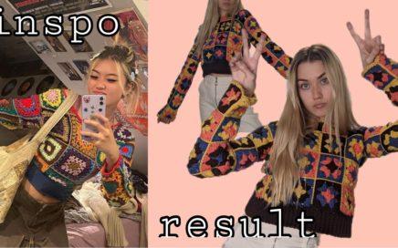 Retro 70s Granny Square Sweater - Crochet Tutorial Vlog