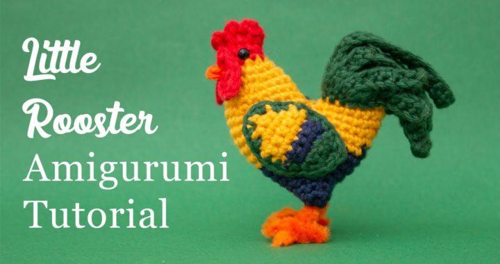Rooster Amigurumi Crochet Tutorial