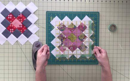 Squaring Up Granny Square Quilt Block Tutorial