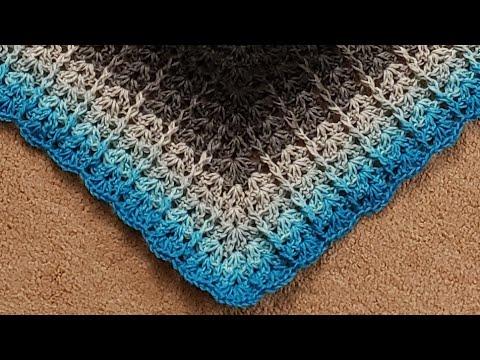 The Corded Shells Shawl Crochet Tutorial!