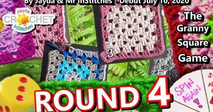 The Granny Square Game ROUND 4 - Crochet Party 67 - LIVE STREAM
