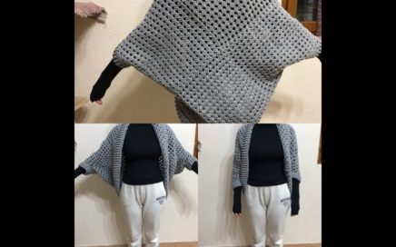 Tuto gilet au crochet ( plus making-of)