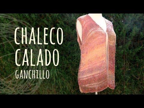 Tutorial Chaleco Calado Fácil y Rápido Ganchillo | Crochet