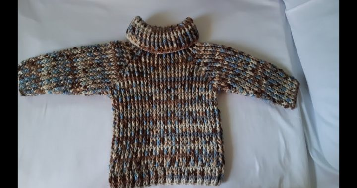 jersey a crochet - tejido facil - sueter de ganchillo - parte #2